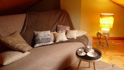 sofa convertible semi-ferme pour de belle nuit
