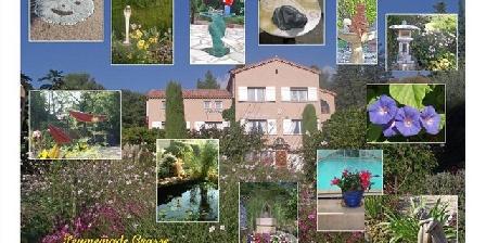 Bastide des Jaisous Décorations du jardin