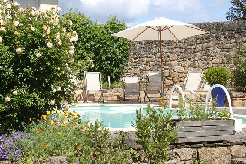 bed & breakfast Lot - PISCINE1