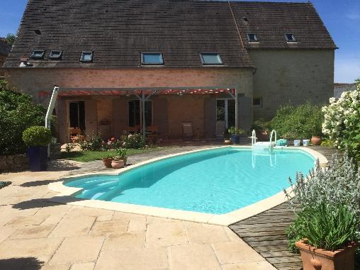Chambre d'hote Lot - piscine