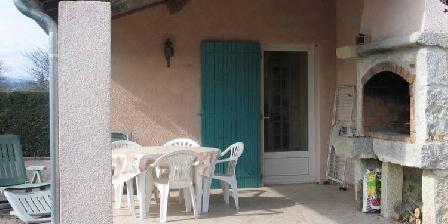 Gîte Chardonnay Terrasse
