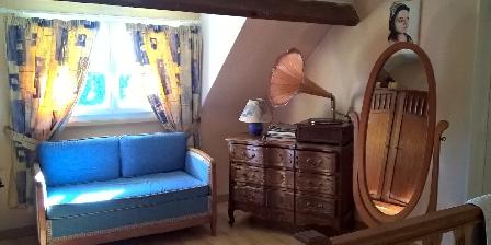 Chambres  d'hôtes  du Carron de  La  Chapelle Salon en mezzanine