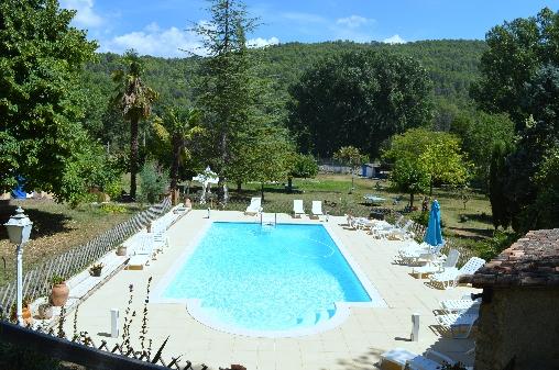Chambre d'hote Var - piscine chauffée en mi-saison
