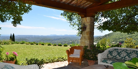 BnB Bastide des Pins Patio