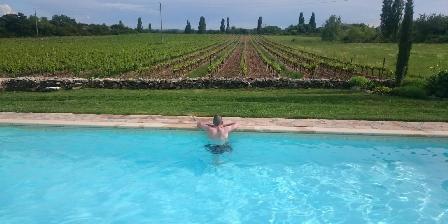 Le Mas de Dumas Coté piscine plein sud