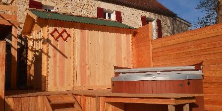 BnB Tournonzen L'espace Bien-être: Spa et sauna