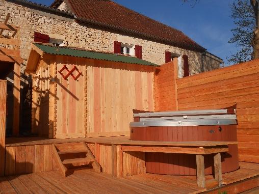 L'espace Bien-être: Spa et sauna