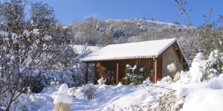 Les Chalets de La Vigne Grande Chalet en hiver