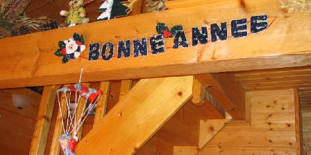 Location de vacances Les Chalets de La Vigne Grande > déco Noël et Nouvel An