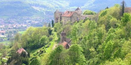 Gite Au Cadran Solaire > à 5 mn Belvoir petite cité de caractère, le château