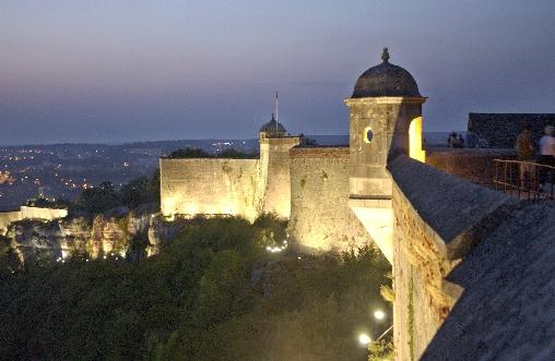 Besançon,ville élue au patrimoine mondial, la citadelle