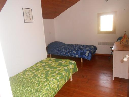 Un chambre 2 lits séparés