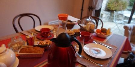 Le Domaine de La Rousselie Petit-déjeuner
