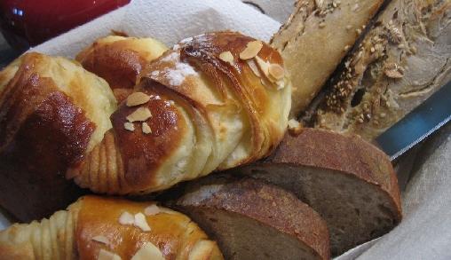 Pain et viennoiseries du petit-déjeuner