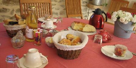 Le Domaine de La Rousselie Petit-déjeuner en terrasse
