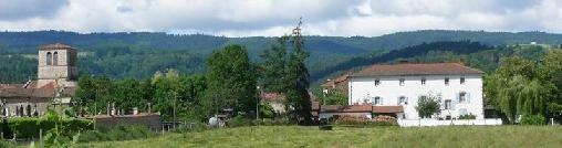 Dore l'Eglise: Eglise et maison