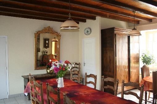 Chambre d'hote Ille-et-Vilaine - salle à manger