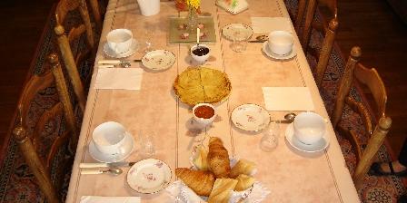 Domaine de La Roche Petit déjeuner complet