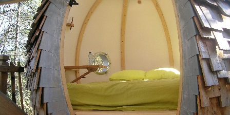 Domaine de Bellevue Cottage - Cabane perchée Lov nid