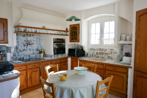 Le Clos Chantebise, la cuisine, un lieu convivial