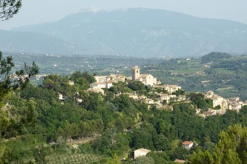 Vinsobres et le Mont-Ventoux