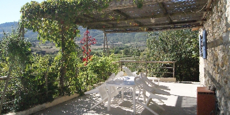 Gite Domaine La Vanige > terrasse pour vacances en Provence