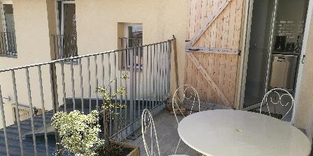 Les Muguets 1er étage Terrasse