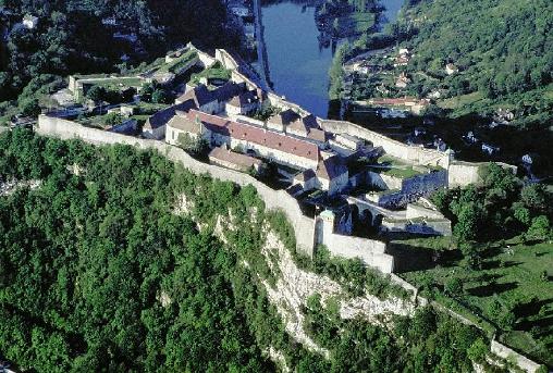 Besançon élue au patrimoine mondial la  citadelle de Vauban,