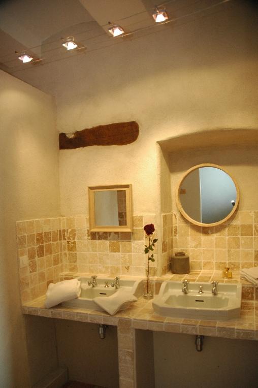 Chambre d'hote Ardèche - salle d'eau