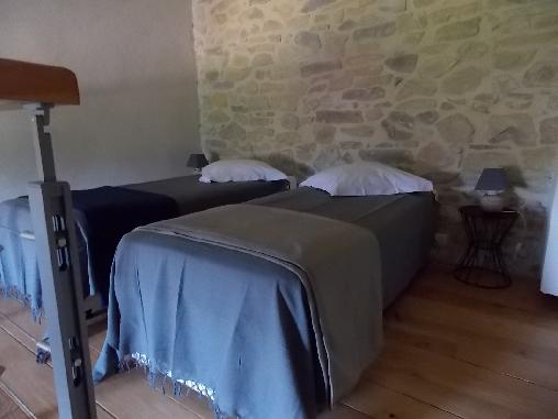 Chambre d'hote Ardèche - la mezzanine