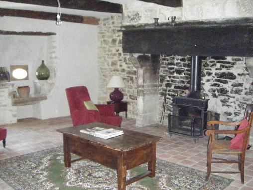 Chambre d'hote Ardèche - le salon
