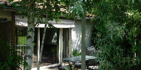 Gîte Le Jas de Berrias La terrasse du gîte