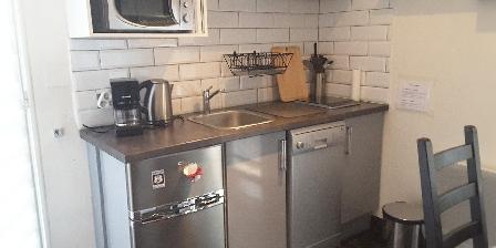 Gîte Le Jas de Berrias Le coin cuisine