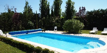 Chambres d'hôtes Le Jas de Berrias La piscine