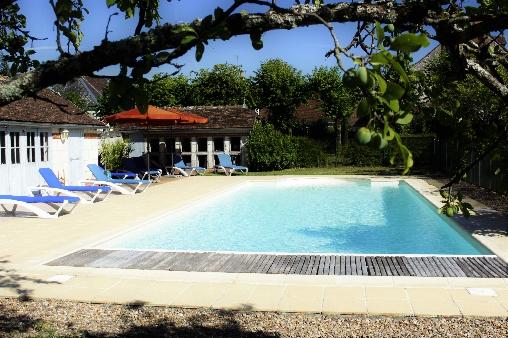 bed & breakfast Loir-et-Cher - Manor of la Voûte : swimming pool