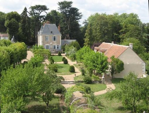 bed & breakfast Loir-et-Cher - Manor of la Voûte : the garden