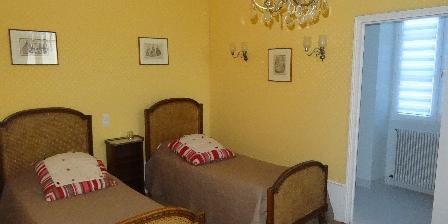 Manoir de La Voûte Suite Chambord chambre 2