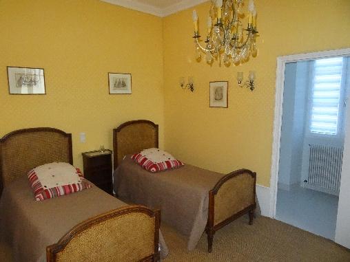 bed & breakfast Loir-et-Cher - Second romm Chambord suite