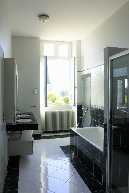 bed & breakfast Loir-et-Cher - Chambord suite bathroom