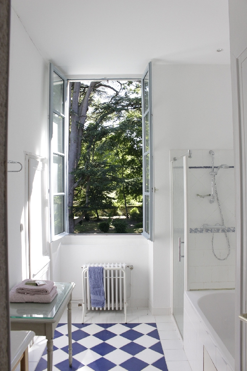 bed & breakfast Loir-et-Cher - Bath room Chenonceau Suite