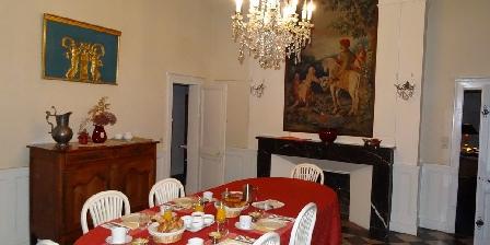 Manoir de La Voûte Salle à manger