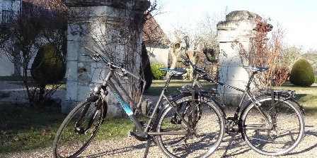 Manoir de La Voûte Les vélos de location