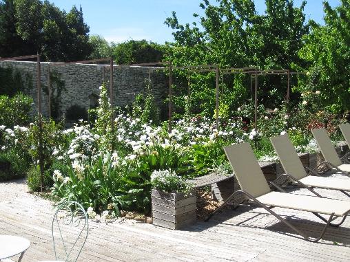 Chambre d'hote Gard - Le jardin