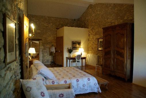 Chambre d'hote Gard - La suite Marquise de Sévigné