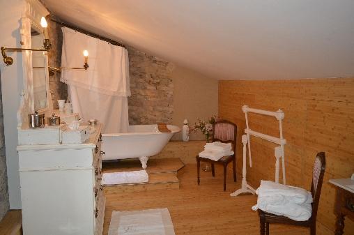 Chambre d'hote Gard - Suite Marquise de Sévigné -  Salle de bain
