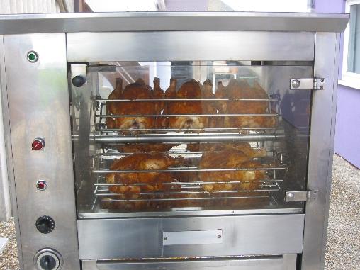 nos poulets rotis