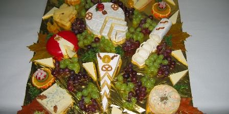 Au Pays Rhenan Notre plateau de fromage