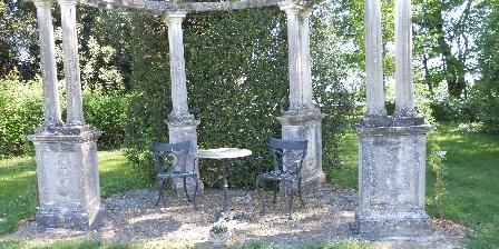 Château de Jalnay Coin dans le jardin