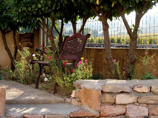 Un coin paisible dans le jardin