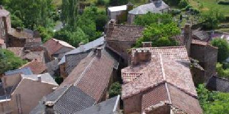 Gîte Petit Château de Roquetaillade Roquetaillade vue du Donjon du château.